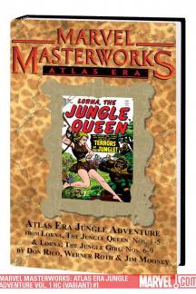 Marvel Masterworks: Atlas Era Jungle Adventure Vol. 1 (Variant) (Hardcover)