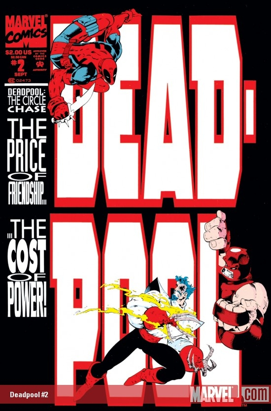 Deadpool: The Circle Chase (1993) #2
