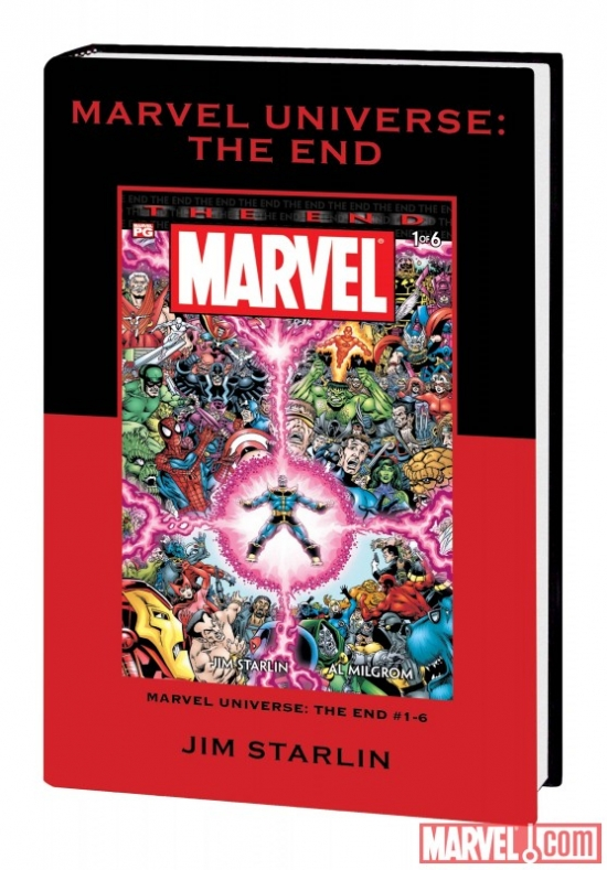 Marvel Universe: The End (Hardcover)
