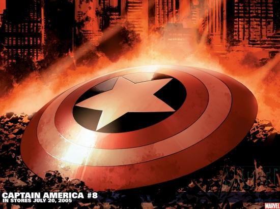 Captain America (1996) #8 Wallpaper