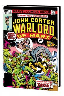 John Carter, Warlord of Mars Omnibus (Hardcover)