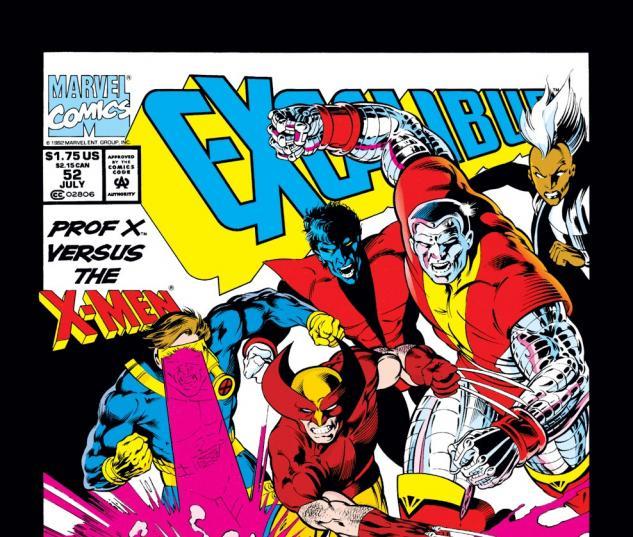 Excalibur (1988) #52 Cover