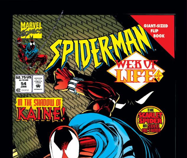 Spider-Man (1990) #54 Cover