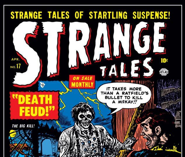 Strange Tales (1951) #17 Cover