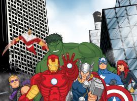 Marvel's Avengers Assemble premieres July 7 inside Marvel Universe on Disney XD