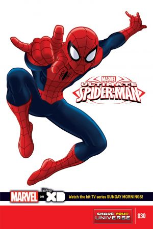 Marvel Universe Ultimate Spider-Man #30
