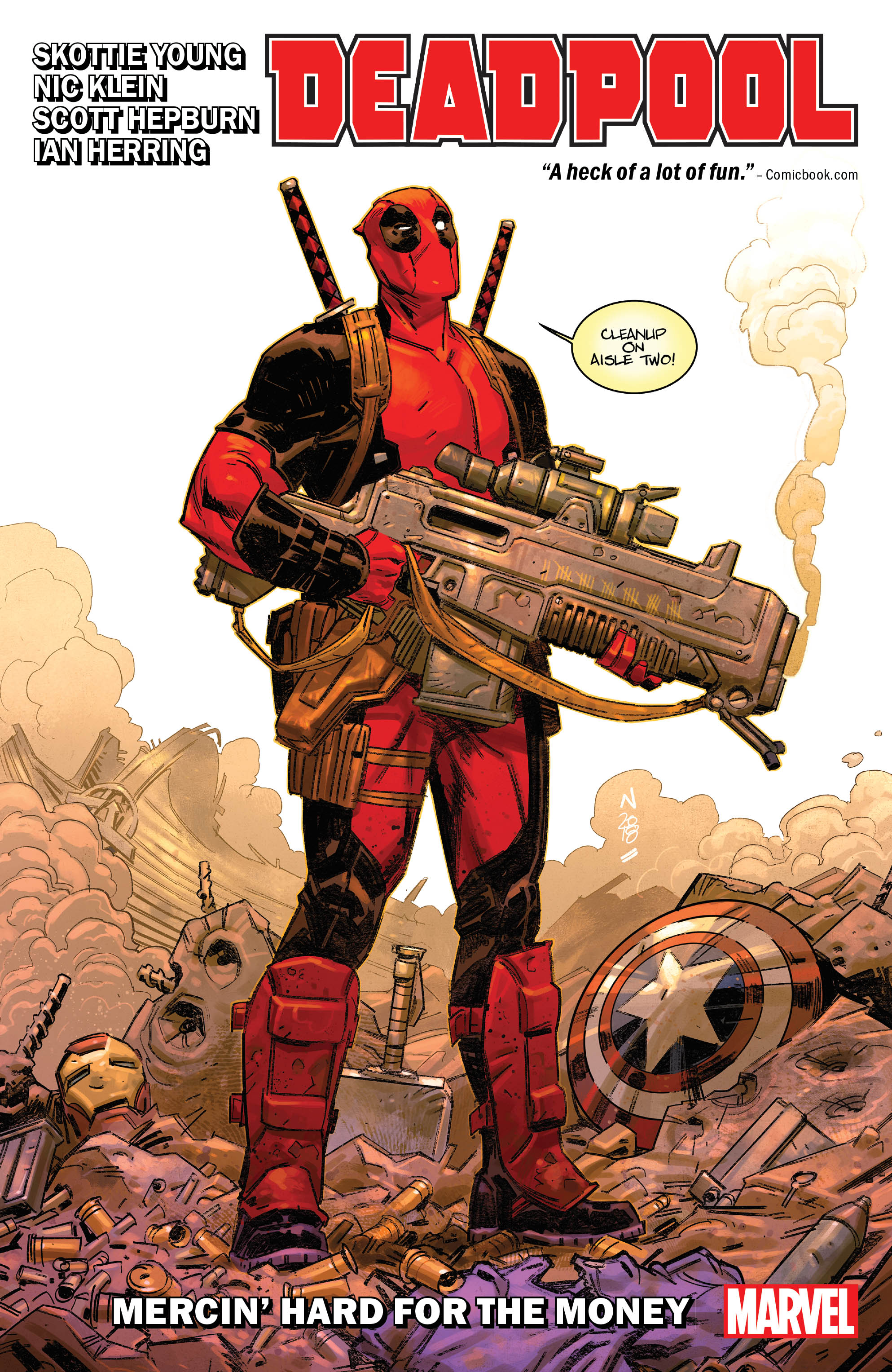 Deadpool by Skottie Young Vol. 1: Mercin' Hard For the Money (Trade Paperback)