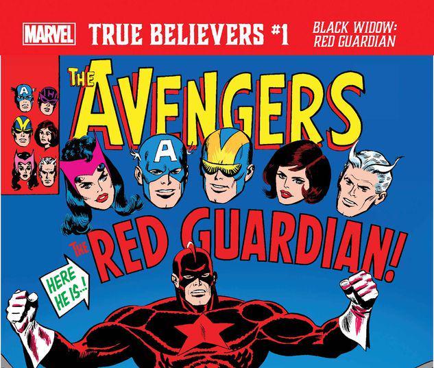 TRUE BELIEVERS: BLACK WIDOW - RED GUARDIAN 1 #1
