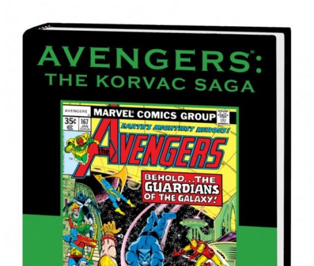 AVENGERS: THE KORVAC SAGA PREMIERE DM ONLY