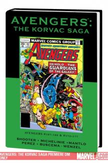 Avengers: The Korvac Saga Direct Market Only (Hardcover)