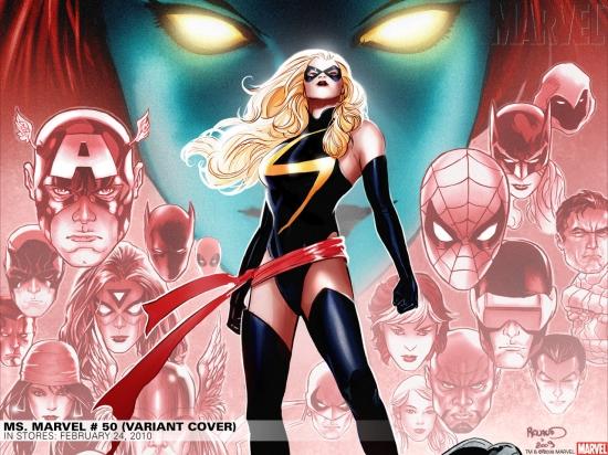 Ms. Marvel #50 variant cover by Sana Takeda