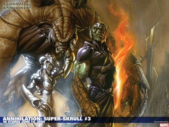Annihilation: Super-Skrull (2006) #3 Wallpaper