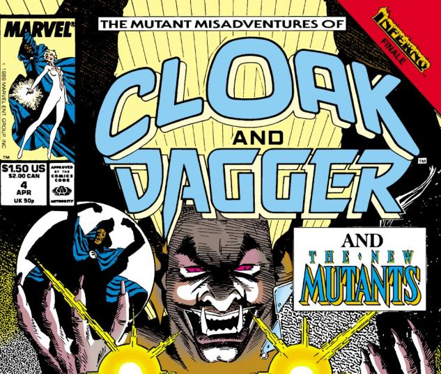 The Mutant Misadventures of Cloak and Dagger (0000) #4 Cover