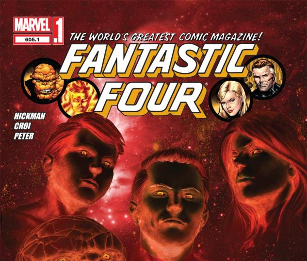 Fantastic Four (1998) #605.1 Cover