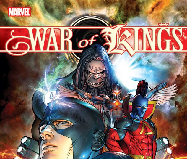 WAR OF KINGS (TRADE PAPERBACK) - cover art