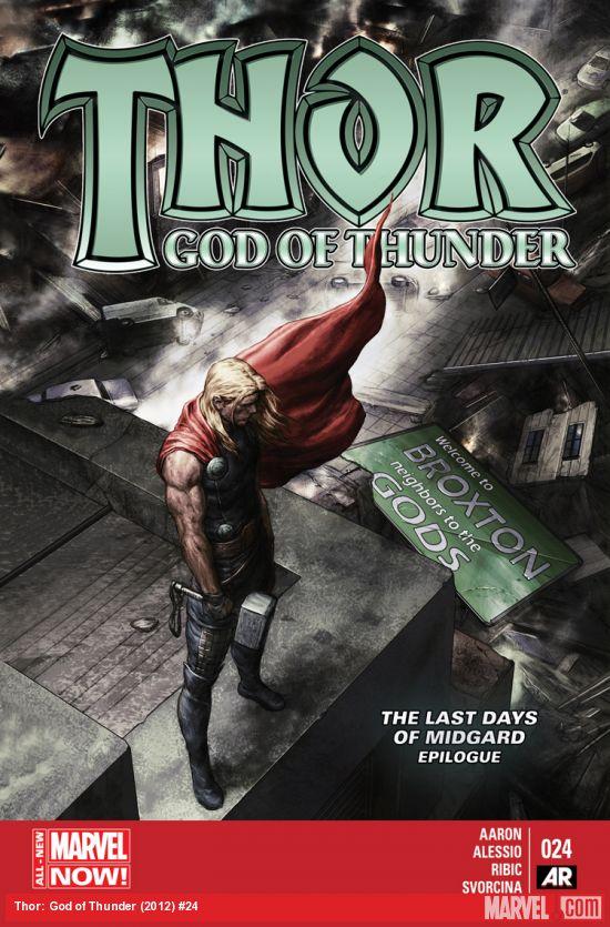 Thor God of Thunder #24 – Comics Review | Wallflyer  Thor