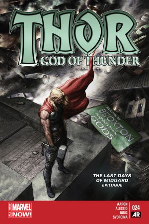 Thor: God of Thunder (2012) #24