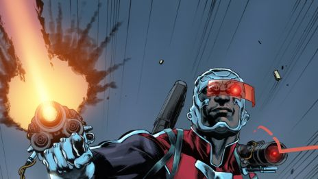 Deathlok #1 preview art by Mike Perkins