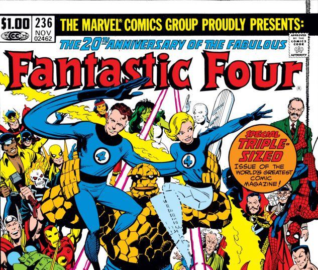 FANTASTIC FOUR (1961) #236