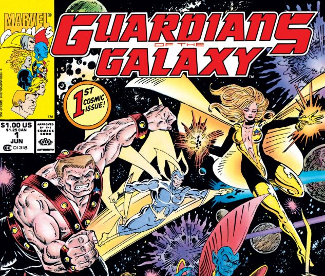 Guardians of the Galaxy (1990) #1