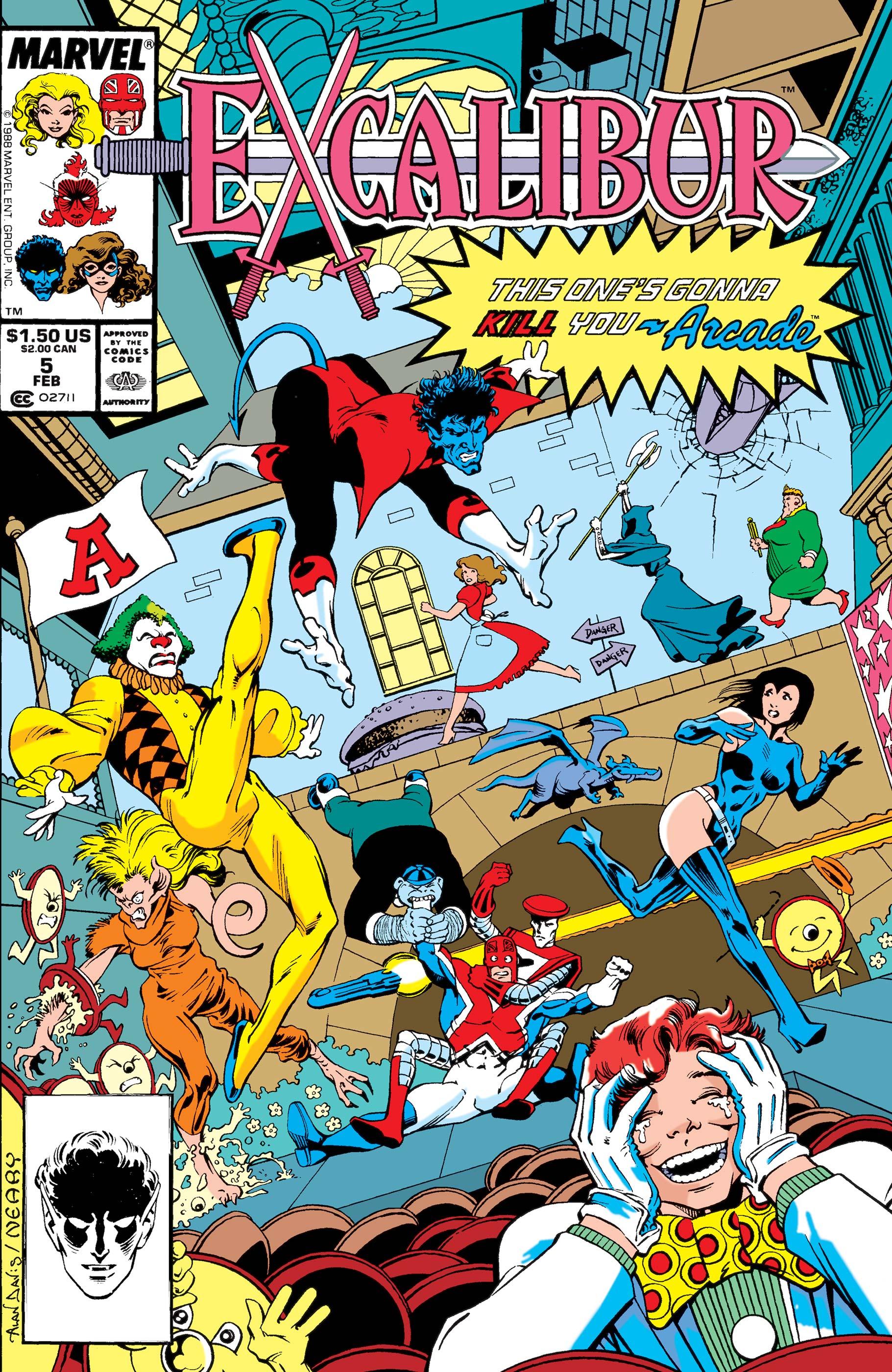 Excalibur (1988) #5