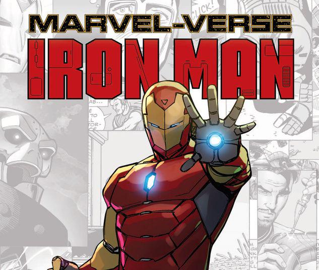 MARVEL-VERSE: IRON MAN GN-TPB #1
