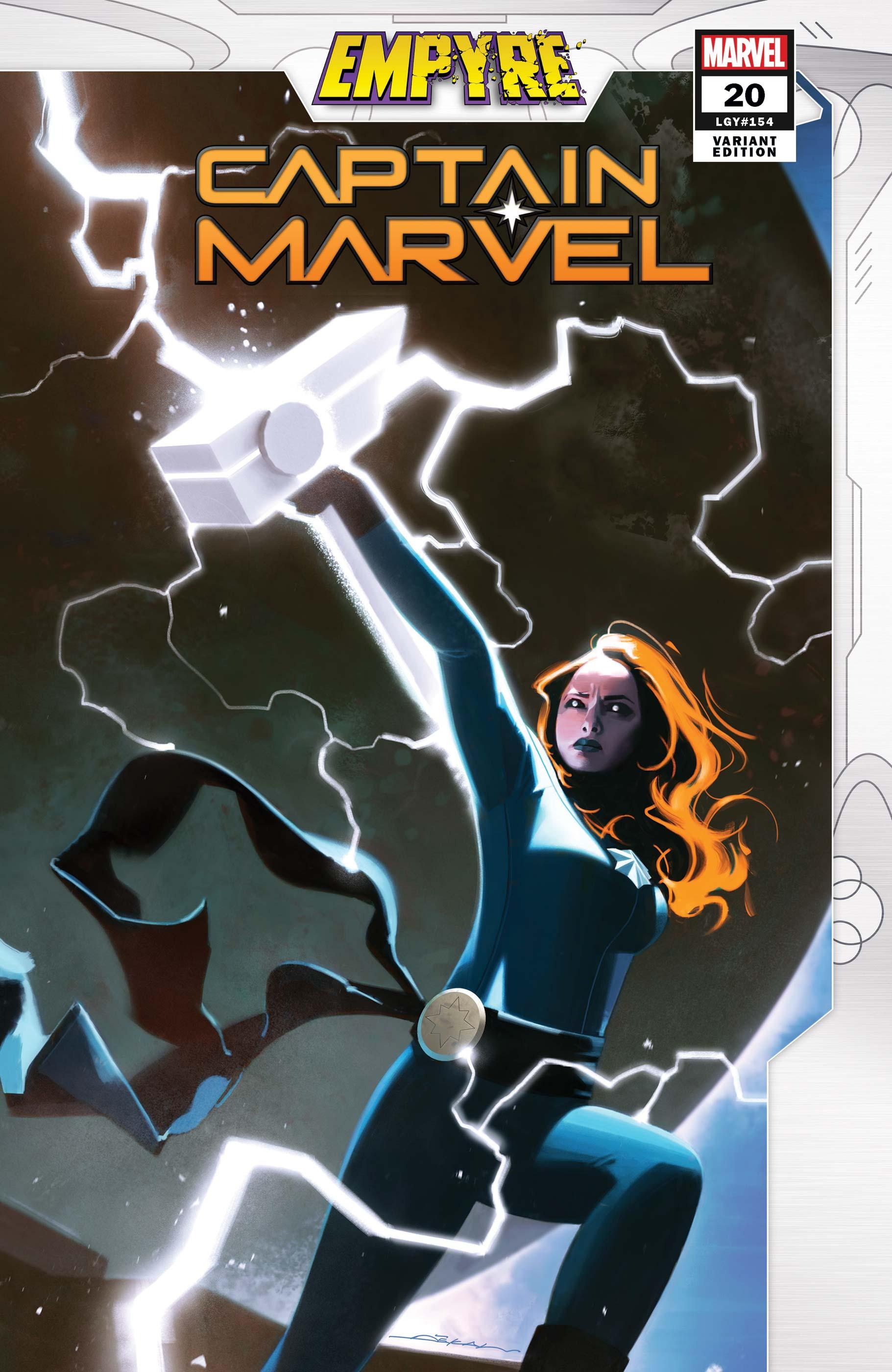 Captain Marvel (2019) #20 (Variant)