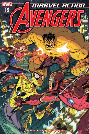 Marvel Action Avengers #12