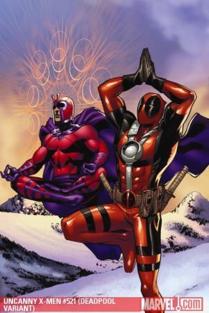 Uncanny X-Men (1963) #521 (DEADPOOL VARIANT)