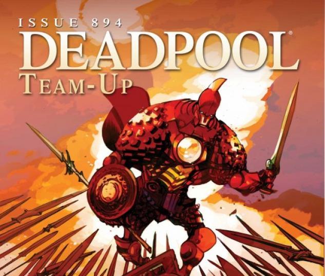 Deadpool Team-Up (2009) #894 (IRON MAN BY DESIGN VARIANT)