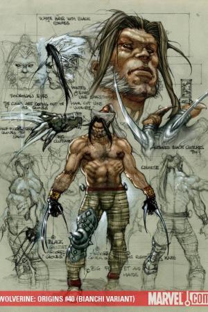 Wolverine Origins #40  (BIANCHI VARIANT)