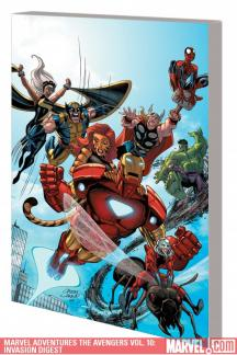 Marvel Adventures the Avengers Vol. 10: Invasion Digest (Digest)