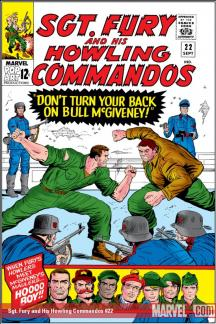 Sgt. Fury and His Howling Commandos (1963) #22