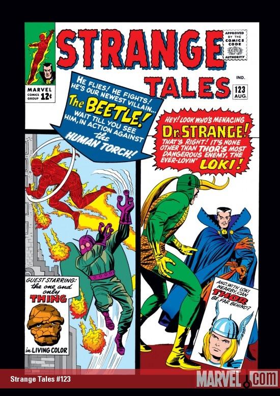 Strange Tales (1951) #123