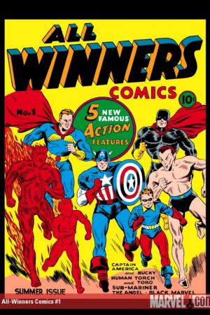 MARVEL MASTERWORKS: GOLDEN AGE ALL WINNERS COMICS VOL. 1 HC (Hardcover)