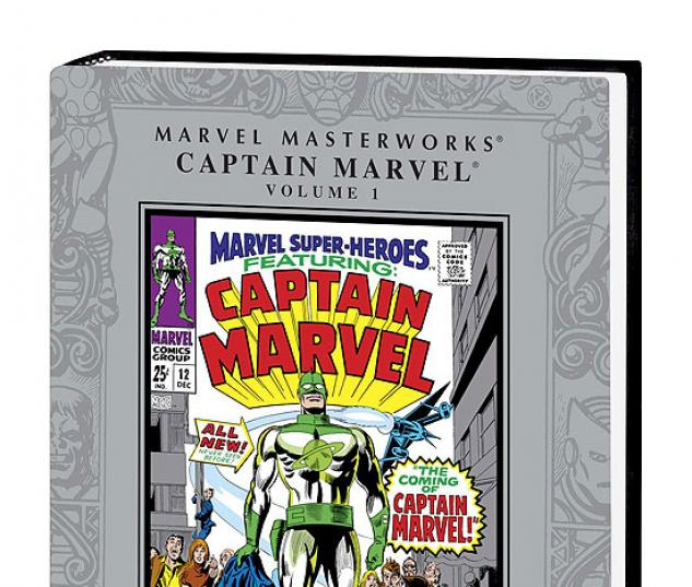 MARVEL MASTERWORKS: CAPTAIN MARVEL VOL. 1 #0