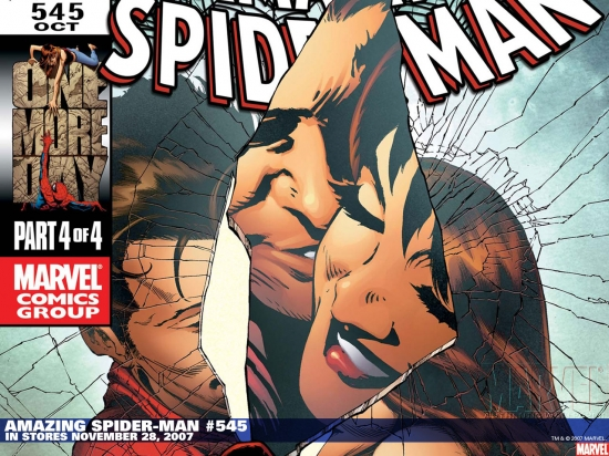 Amazing Spider-Man (1999) #545 (DJURDJEVIC VARIANT) Wallpaper