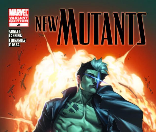 New Mutants #25 X-Man Variant