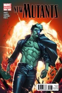 New Mutants (2009) #25 (X-Man Variant)