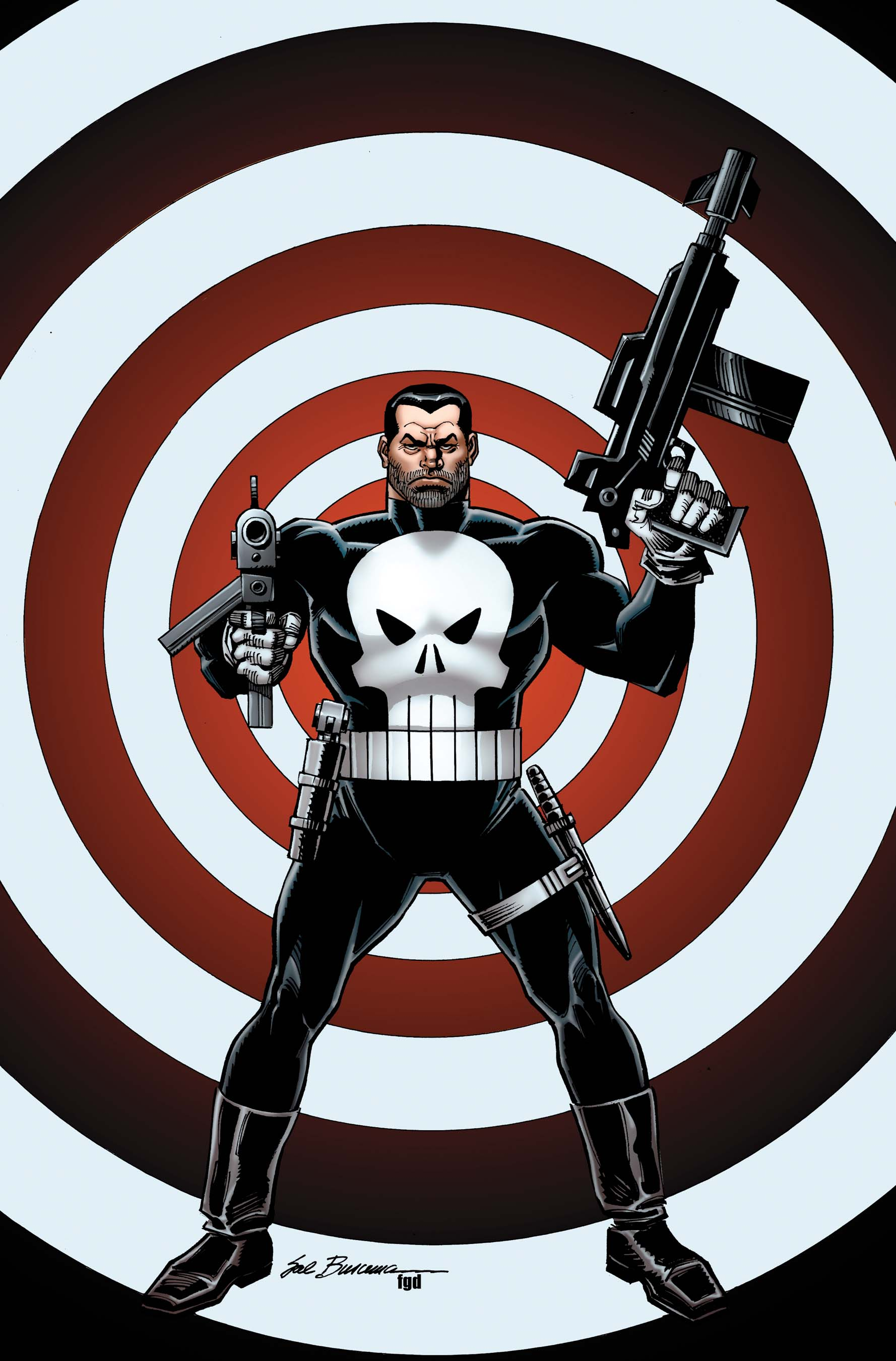 The Punisher (2011) #1 (Buscema Variant)