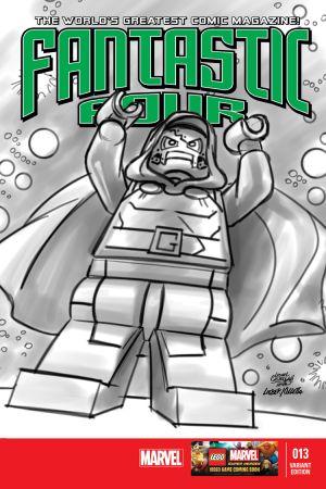 Fantastic Four #13  (Castellani Lego Sketch Variant)