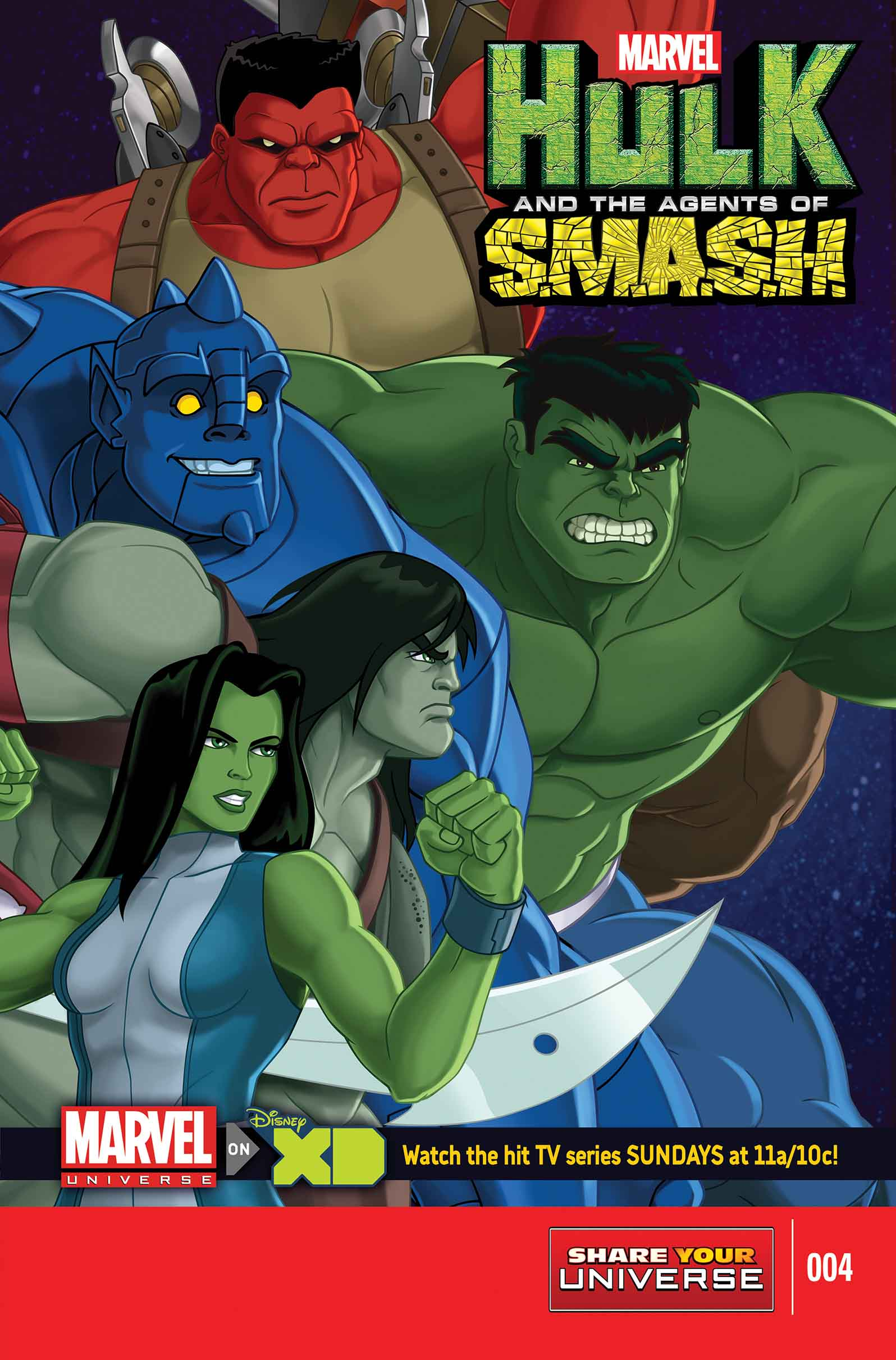 Marvel Universe Hulk: Agents of S.M.A.S.H. (2013) #4