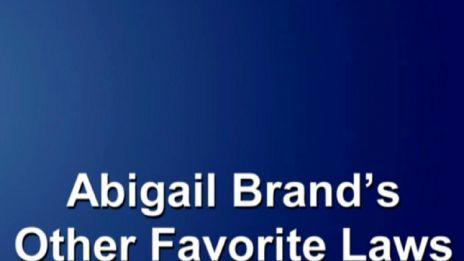 Marvel AR: Abigail Brand's Favorite Laws