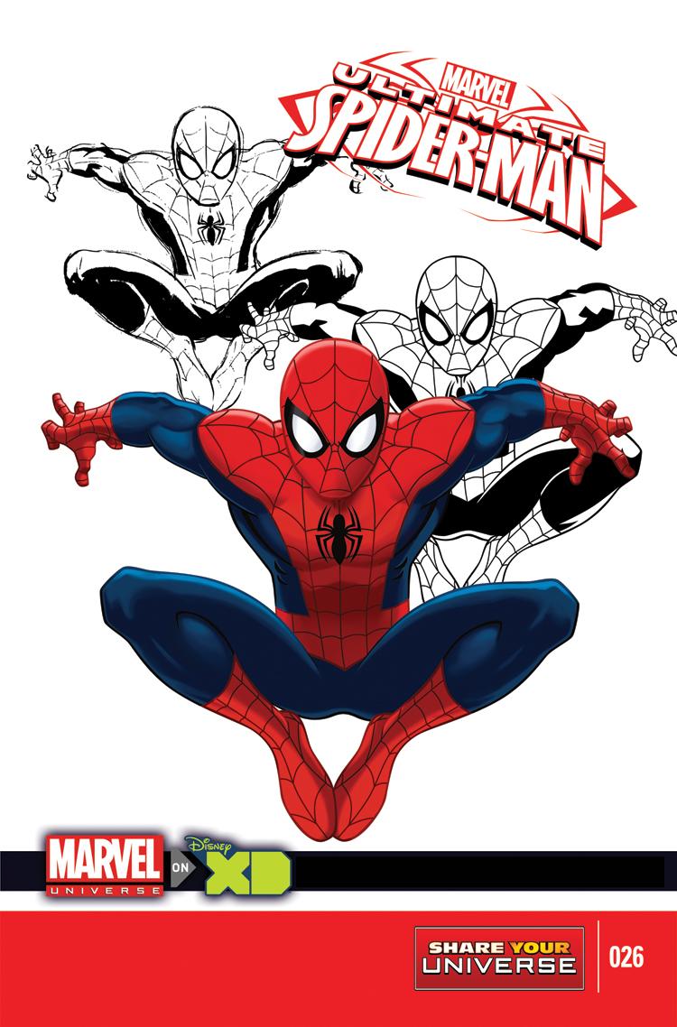 Marvel Universe Ultimate Spider-Man (2012) #26