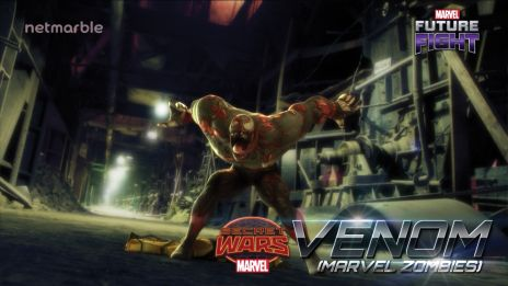 Fend of the hordes of Marvel Zombies with Venom