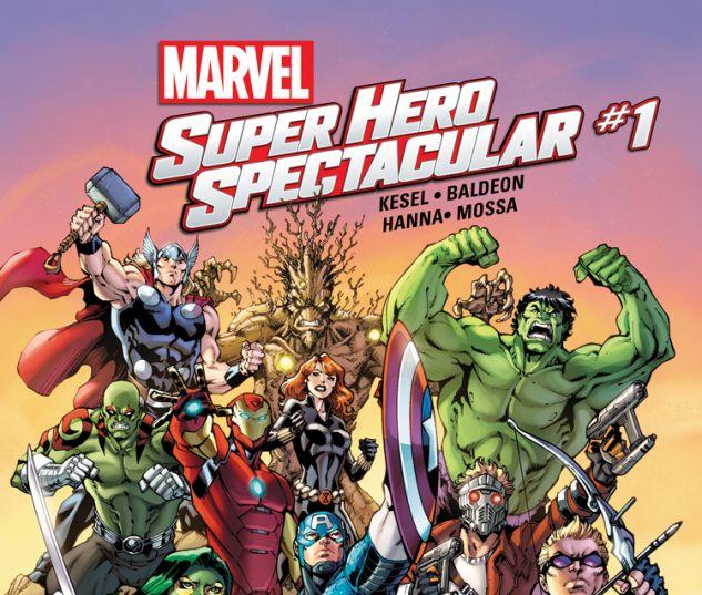 MARVEL SUPER HERO SPECTACULAR 1 (WITH DIGITAL CODE)