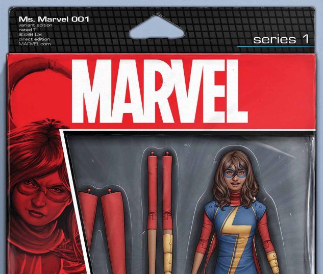 Ms. Marvel #1 variant art by John Tyler Christopher