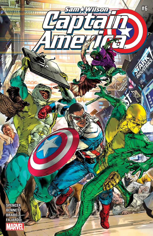 Captain America: Sam Wilson (2015) #6