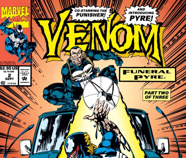 Cover for VENOM: FUNERAL PYRE 2