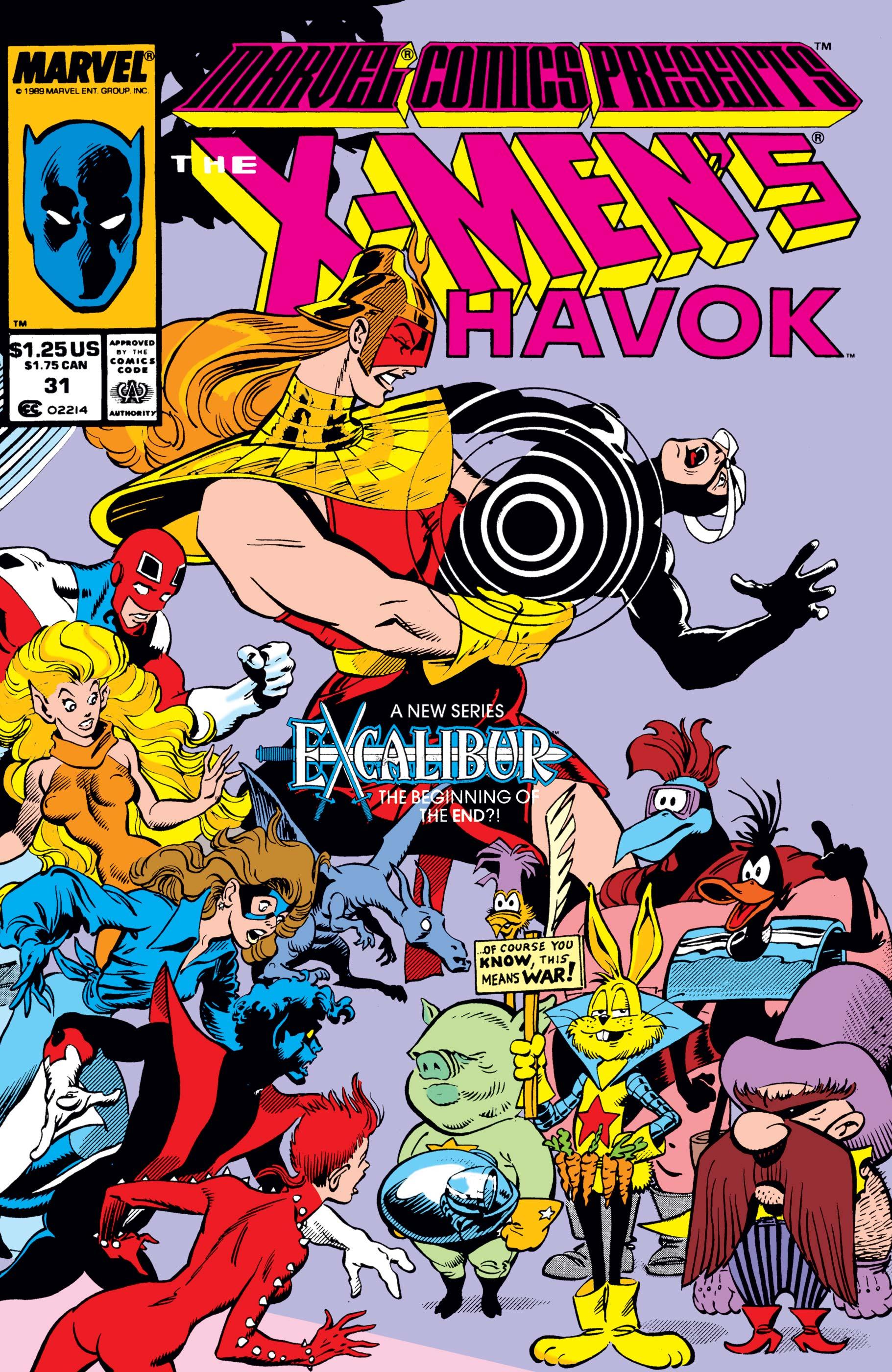 Marvel Comics Presents (1988) #31
